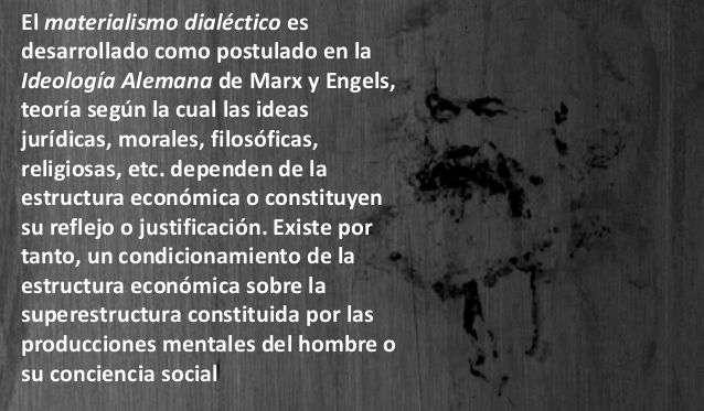 Postulados del Materialismo Dialectico Filosofia y Politica