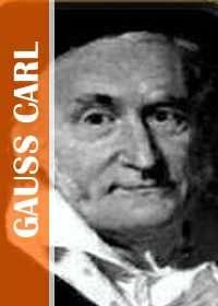 Carl Gauss Matematico Aleman