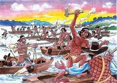 La Batalla de Mborore Guaranies contra Bandeirantes