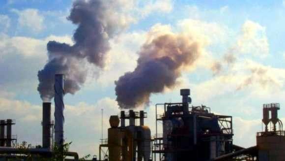 emision de humo al medio ambiente