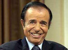 presidente de argentina carlos menem