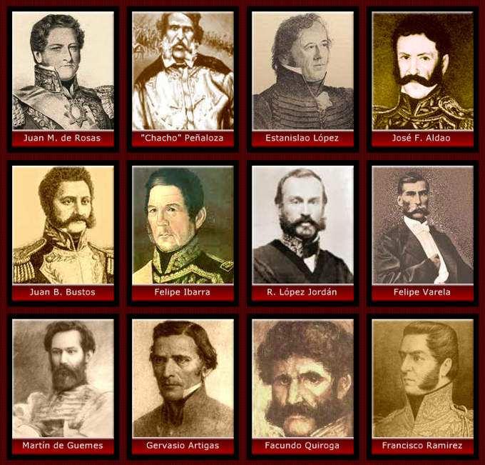 Resultado de imagen para historiaybiografias.com caudillo