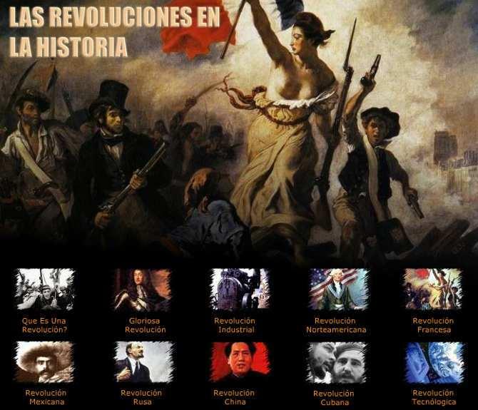 Principales Revoluciones Sociales,Científicas y Políticas