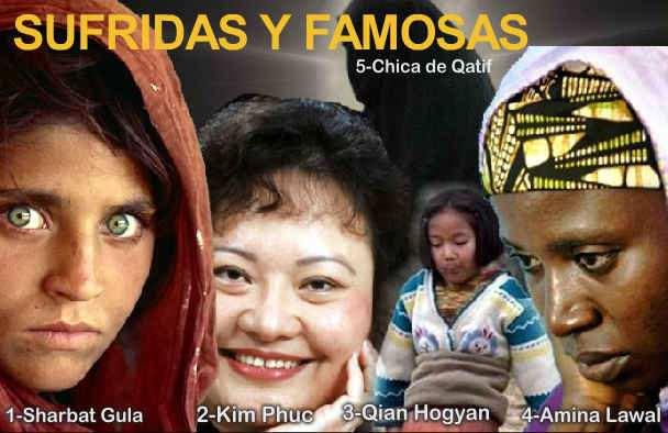 mujeres sacrificadas y famosas