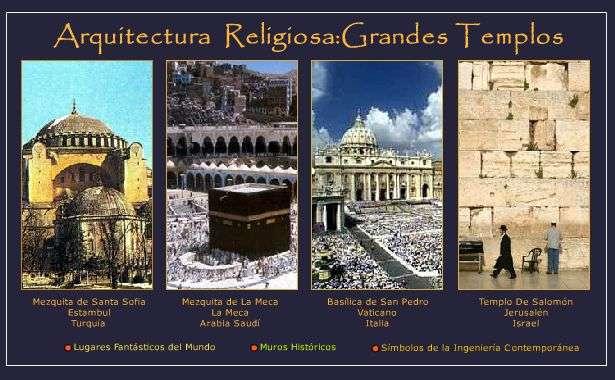 Mas Importantes Templos y Monumentos y Religiosos