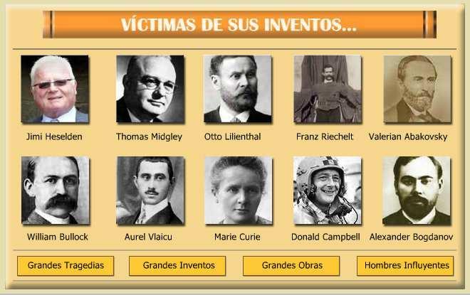 inventores famosos y sus obras