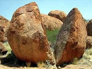 meteorizacion de una roca