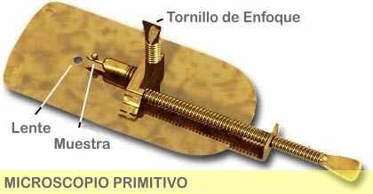 MICROSCOPIO PRIMITIVO