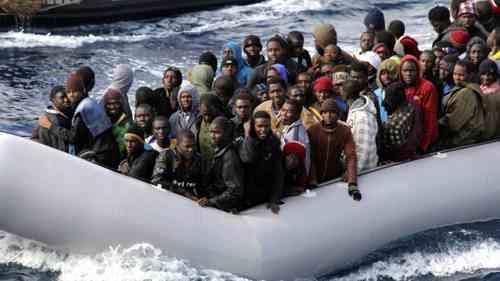 inmigrantes africanos hacia europa