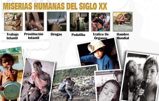 Las Miserias Humanas del Siglo XX