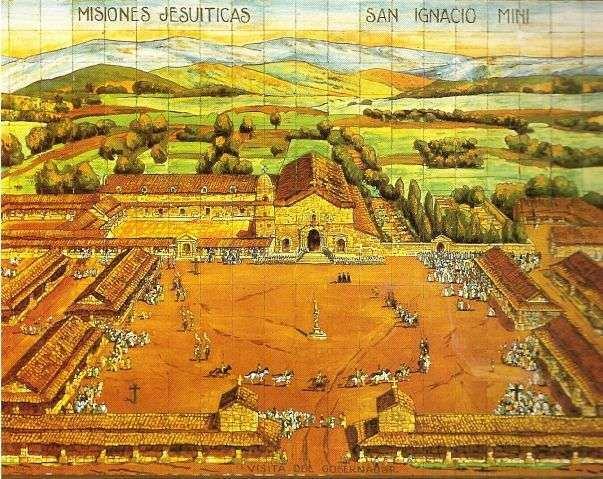 Misión de San Ignacio Mini en Misiones - Historia de Guaranies y Jesuítas