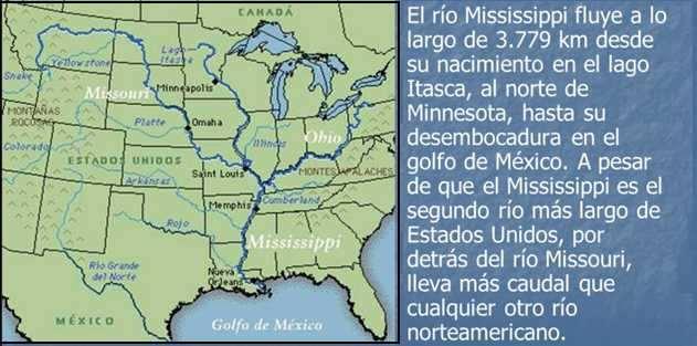 mapa cuencia mississippi