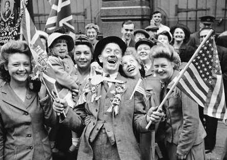 ee.uu. en la segunda guerra mundial