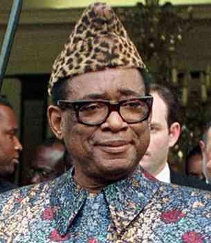 Mobutu dictadura en el congo