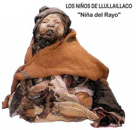 momia en salta llullaillaco Niño del Rayo