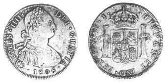 Monedas virreinato rio de la plata