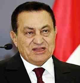 Mubarack presidente de Egipto