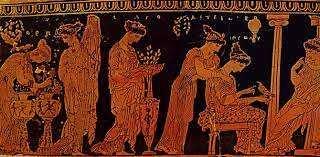 Mujeres en grecia antigua