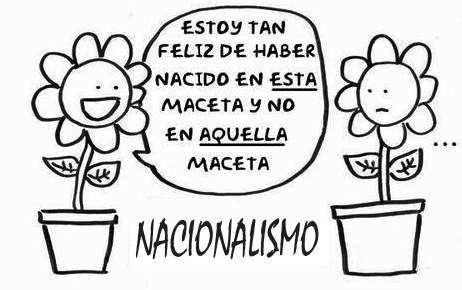 nacionalismo patriotismo diferencias