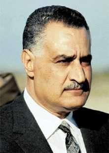Nasser presidente de Egipto
