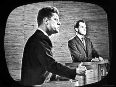 TELEVISIÓN Y LA POLÍTICA kennedy y nixon