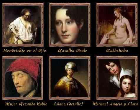 obras de rembrandtbholanda siglo xvii