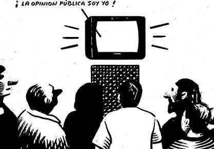 medios comunicacion en la opinion publica