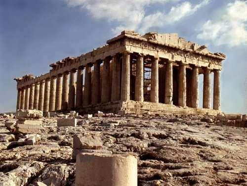 El Partenon:Caracteristicas e Historia-Arquitectura Griega
