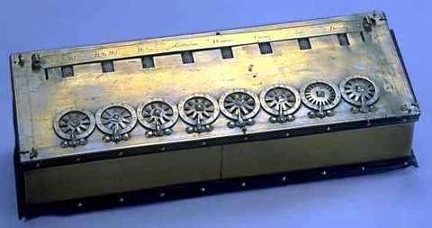 Pascalina primera calculadora mecanica