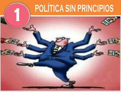pecados sociales politica sin principios