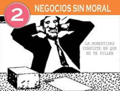 negocios sin moral