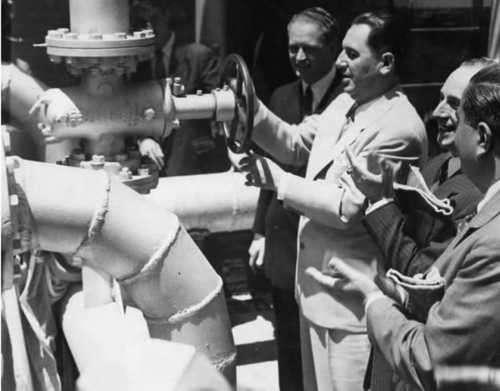 Perón y Canesa