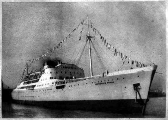 Barco de la flota peronista