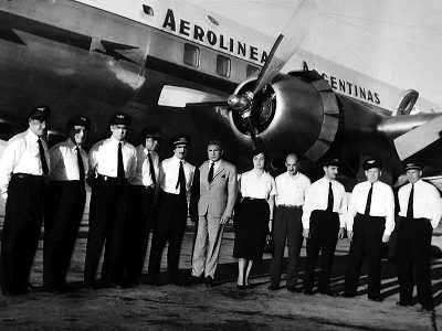 Nacionalizacion de Aerolineas Argentinas en el  Gobierno de Juan Peron