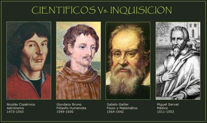 cientificos castigdos por la iglesia