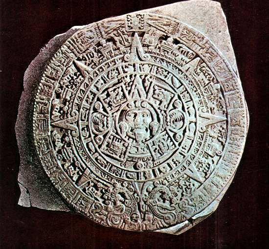 piedra sol calendario azteca