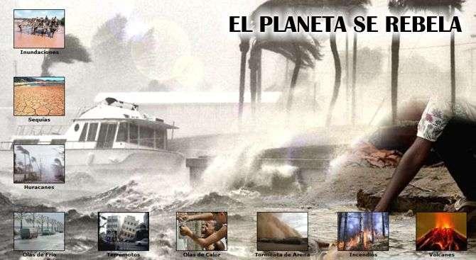 desastres naturales en el planeta