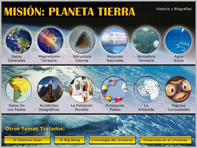 PLANETA TIERRA Informacion General