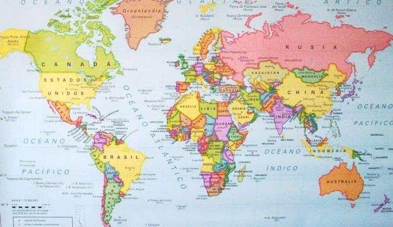 Paises y capitales del Mundo poblacion superficie moneda idiomas