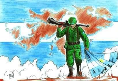 soldado de Malvinas