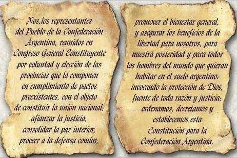 preambulo argentino