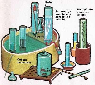equipos quimicos de priestley