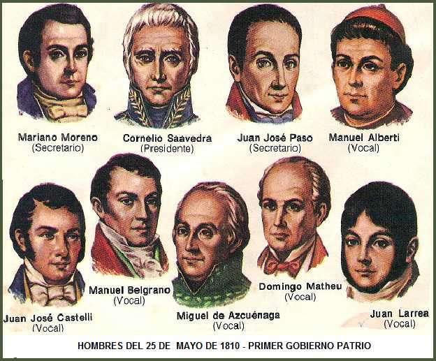 OBRA SOCIAL y ECONOMICA DE LA PRIMERA JUNTA DE GOBIERNO EN 1810