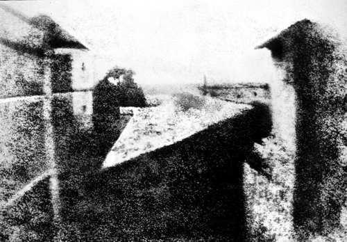 primera fotografia de 1826 de Niepce
