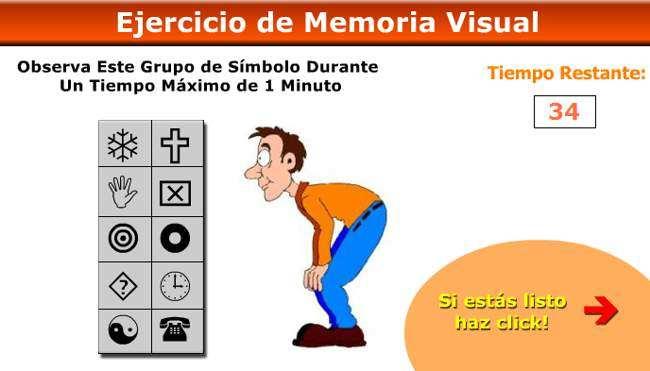ejercicio de memoria visual