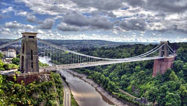puente colgante Clifton