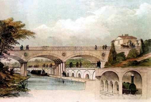 puentes y canales en la revolucion industrial