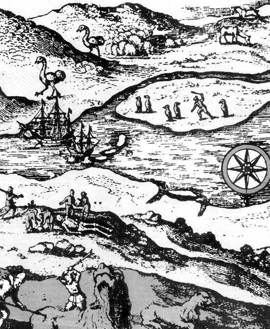 Puerto Deseado en 1600