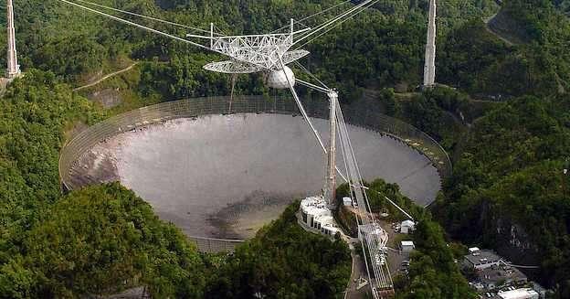 Gigante Radiotelescopio de Arecibo