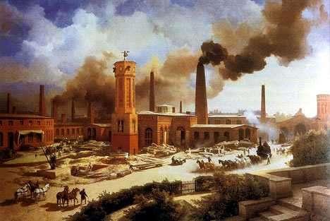 Revolucion Industrial en Estados Unidos EE.UU.